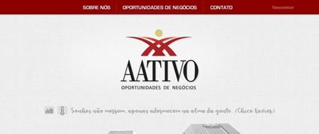 Site criado para Aativo