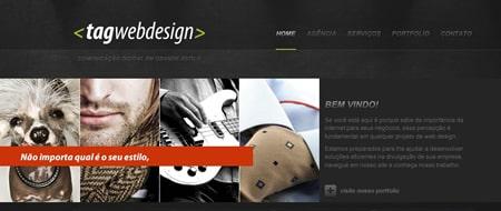 Site criado para Tag Web Design