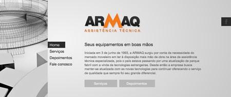 Site criado para Armaq Assistência Técnica