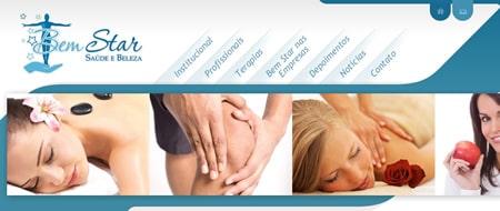Site criado para Bem Star Saúde e Beleza