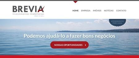 Site criado para Brevia Investimentos Imobiliários
