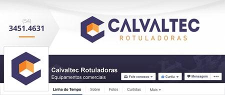 Material criado para Calvaltec Rotuladoras