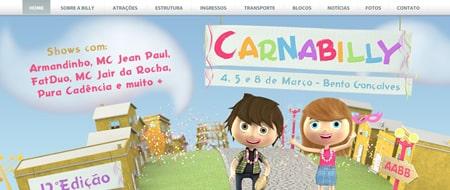 Site criado para Carnabilly