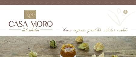 Site criado para Casa Moro Delicatessen