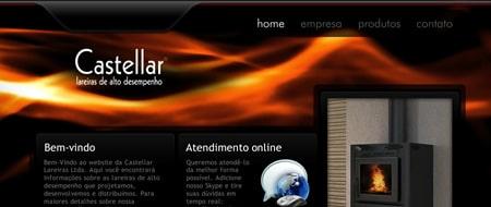 Site criado para Castellar Lareiras