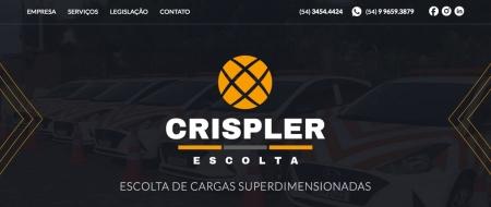 Site criado para Crispler Escolta