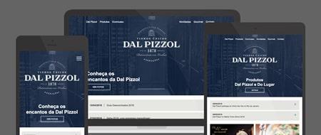Design Responsivo criado para Dal Pizzol Vinhos Finos