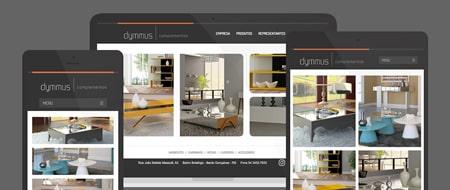 Design Responsivo criado para Dymmus Complementos