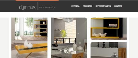 Site criado para Dymmus Complementos