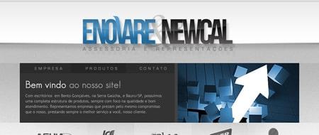 Site criado para Enovare Representações