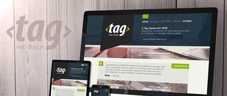 Material criado para Tag Web Design