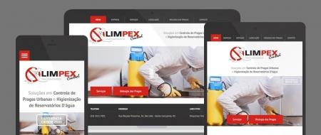 Design Responsivo criado para Limpex