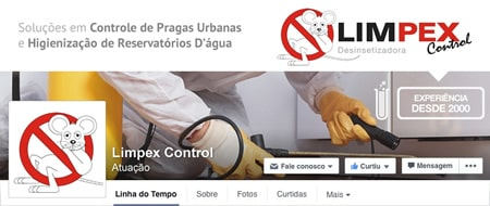 Material criado para Limpex Control Desinsetizadora