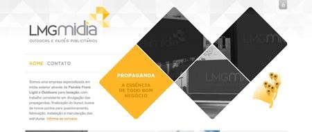 Site criado para LMG Midia