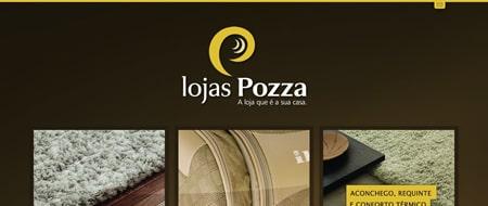 Site criado para Lojas Pozza