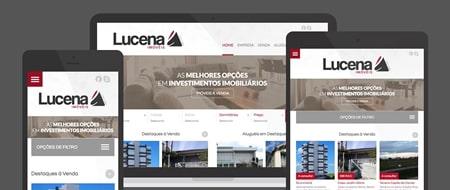Design Responsivo criado para Imobiliária Lucena Imóveis