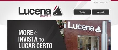 Site criado para Lucena Imóveis