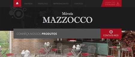 Site criado para Móveis Mazzocco