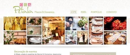 Site criado para Pétala - Marcia Di Domenico