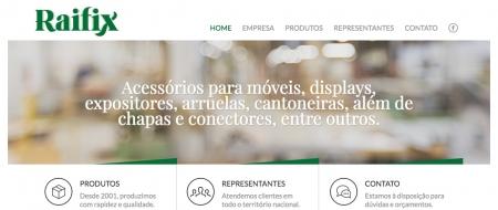 Site criado para Raifix