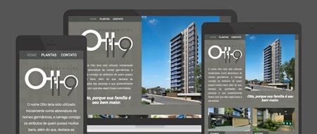 Design Responsivo criado para Residencial Otto