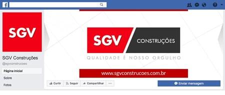 Material criado para SGV Construções