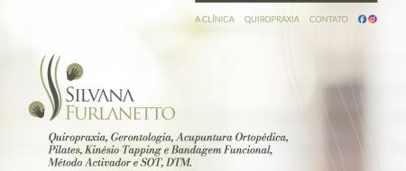 Site criado para Silvana Furlanetto