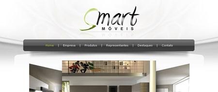 Site criado para Smart Móveis