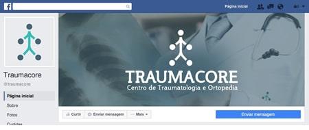 Material criado para Traumacore - Centro de Traumatologia e Ortopedia