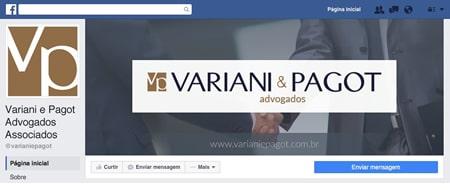 Material criado para Variani e Pagot Advogados