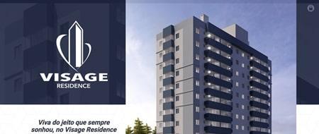 Site criado para Visage Residence