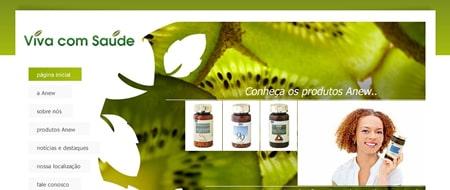 Site criado para Viva com Saúde