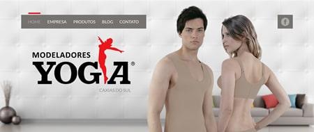 Site criado para Yoga Modeladores